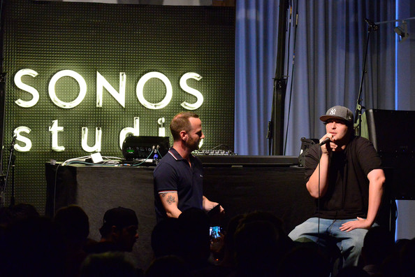 Jason Bentley and Pretty Lights Photos Photos - Sonos Studio