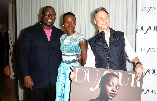 DuJour Magazine's Jason Binn Celebrates Lupita Nyong'o Cover Along With Other Nominees For Great Performances