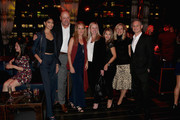 Pritika Swarup, Thierry Prissert, Kristen Ingersoll, Lindsay Paterson, Leah la Marca, Mary Putter and Jason Binn attend the DuJour Media celebration of the October Cover Star Clive Owen at PhD Lounge presented by Breitling's Thierry Prissert on October 10, 2019 in New York City.