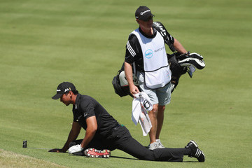Jason Day Colin Swatton World Golf Championships-Dell Match Play - Round Two