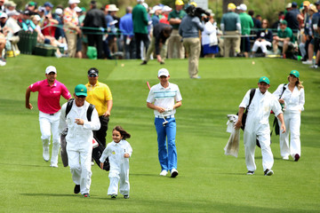 Jason Day Ellie Day The Masters - Preview Day 3