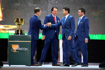 Jason Day Jordan Spieth The Presidents Cup - Preview Day 3