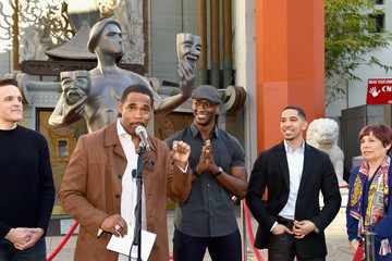 Jason George Woody Schultz The 22nd Annual Screen Actors Guild Awards - SAG Awards Actor to Visit Hollywood's TCL Chinese Theatre