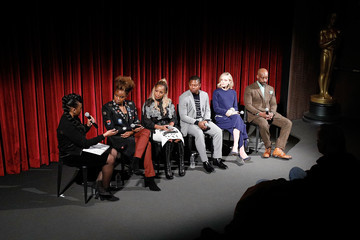 Jason Mitchell Rebecca Theodore-Vachon The Academy of Motion Picture Arts & Sciences Hosts an Official Academy Screening of MUDBOUND