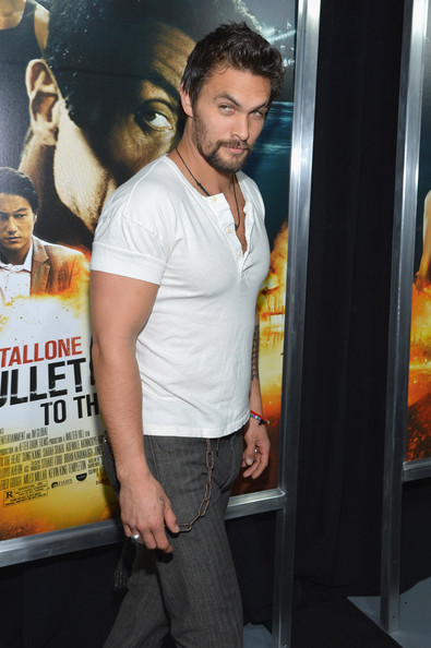 Jason Momoa Actor Jason Momoa attends the  quot Bullet To The Head quot  New    Jason Momoa Bullet To The Head