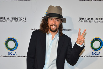 Jason Mraz Celebs at UCLA's Evening of Environmental Excellence 2