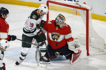 Jason Pominville Minnesota Wild v Florida Panthers