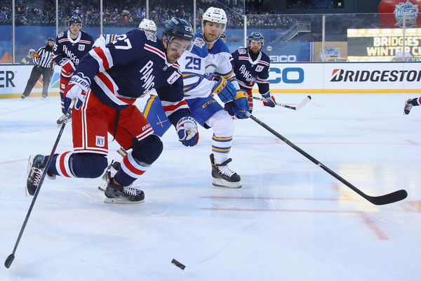 buy online ebd02 3e85d Jason Pominville and Ryan McDonagh Photos Photos - Zimbio