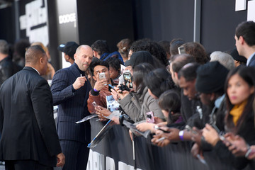 Jason Statham 'The Fate of the Furious' New York Premiere
