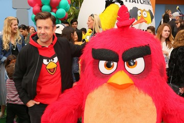 Jason Sudeikis Premiere of Sony Pictures' 'Angry Birds' - Arrivals