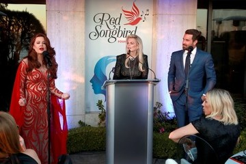"""Jason Wahler Hilary Roberts Cure Addiction Now & The Red Songbird Foundation Host Private Event With The Cast Of """"The Hills"""""""