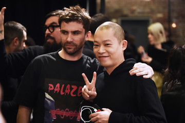 Jason Wu BOSS Womenswear - Backstage - February 2018 - New York Fashion Week Mens'