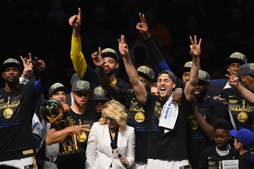 Javale Mcgee Klay Thompson 2018 NBA Finals - Game Four