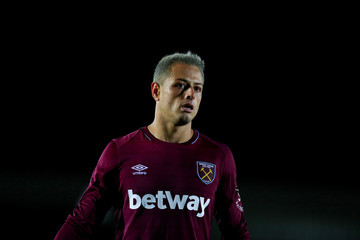 Javier Hernandez AFC Wimbledon vs. West Ham United - Carabao Cup Second Round