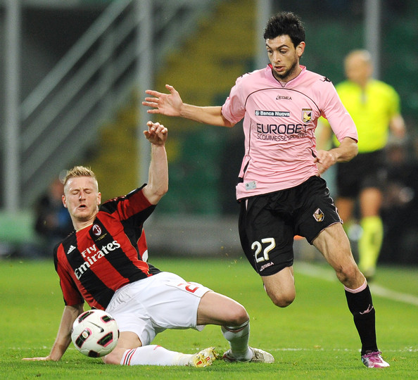 Javier Pastore - US Citta di Palermo v AC Milan - Serie A