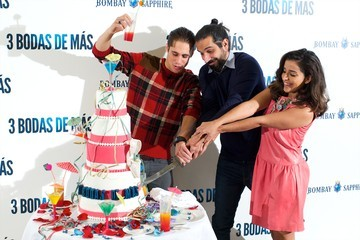 Javier Ruiz Caldera '3 Bodas de Mas' Madrid Photo Call
