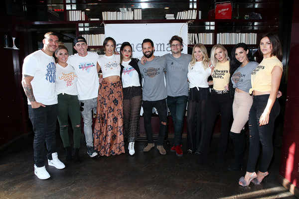 Kristen Doute's James Mae Launch Party [social group,event,team,youth,community,tourism,leisure,night,crowd,kristen doute,brittany cartwright,jax taylor,brian carter,tom schwartz,tom sandoval,l-r,launch party,james mae,james mae launch party]