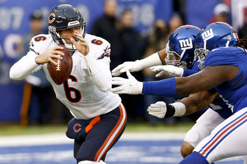 Jay Cutler Chicago Bears v New York Giants
