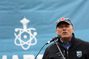 Jay Inslee Marches for Science Take Place Around the Country