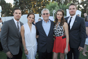 Jay Ryan CW, CBS And Showtime 2012 Summer TCA Party - Inside