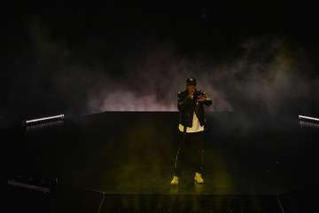 Jay Z Jay-Z Performs in Concert - Miami, FL
