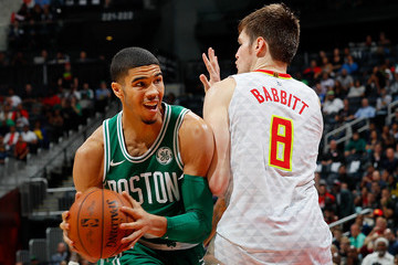 Jayson Tatum Boston Celtics v Atlanta Hawks