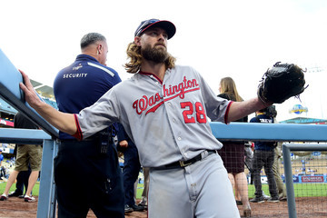 Jayson Werth Division Series - Washington Nationals v Los Angeles Dodgers - Game Three