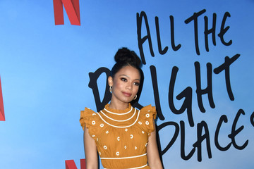 """Jaz Sinclair Special Screening Of Netflix's """"All The Bright Places"""""""