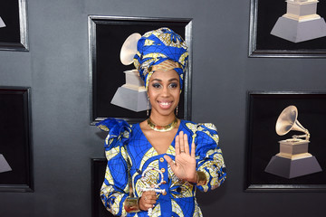 Jazzmeia Horn 60th Annual GRAMMY Awards - Arrivals