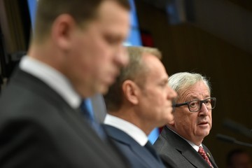 Jean-Claude Juncker EU Leaders Move to Next Stage of Brexit Discussions