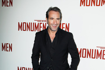 Jean Dujardin 'The Monuments Men' Premieres in Paris