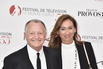 Jean-Michel Aulas 55th Monte Carlo TV Festival : Day 1