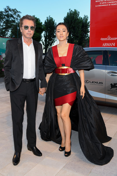 Lexus At The 76th Venice Film Festival - Day 8 [lan xin da ju yuan,suit,clothing,fashion,event,luxury vehicle,formal wear,outerwear,little black dress,carpet,vehicle,jean-michel jarre,gong li,sala grande,red carpet,fiction,venice,lexus,the 76th venice film festival,screening]