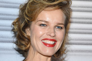 Eva Herzigova attends the Jean-Paul Gaultier Haute Couture Spring/Summer 2020 show as part of Paris Fashion Week at Theatre Du Chatelet on January 22, 2020 in Paris, France.