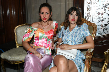 Jeanne Damas Miu Miu 2019 Cruise Collection Show : Front Row - Paris
