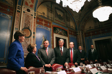 Jeanne Shaheen King Abdullah II Meets with Members of Congress