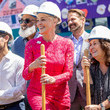 Jeanne White-Ginder AIDS Monument Groundbreaking In West Hollywood