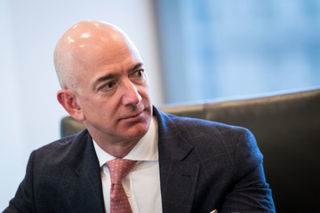 Jeff Bezos Trump Holds Summit With Technology Industry Leaders