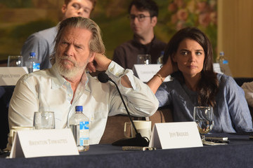 Jeff Bridges 'The Giver' Press Conference in NYC