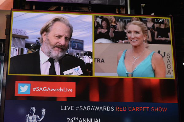24th Annual Screen Actors Guild Awards - Times Square Viewing