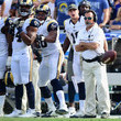Jeff Fisher Carolina Panthers v Los Angeles Rams