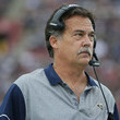Jeff Fisher Atlanta Falcons v Los Angeles Rams