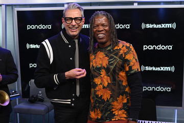Jeff Goldblum Jeff Goldblum Performs On SiriusXM's Real Jazz Channel In New York City