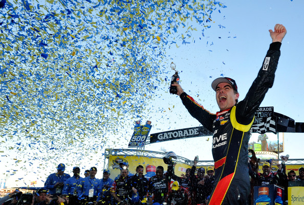 Jeff Gordon in Victory Lane at Martinsville