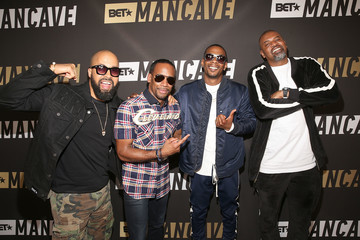 Jeff Johnson BET Networks Hosts 'Mancave' Event in Los Angeles for New Late-Night Talk Show