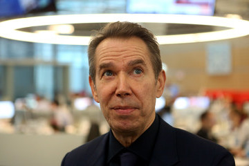 Jeff Koons Jeff Koons Visits WELT Newsroom In Berlin