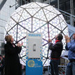 Jeff Straus New Year's Eve 2016 in Times Square - Philips Ball Test