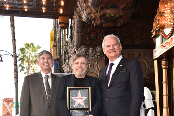 Jeff Zarrinnam Mark Hamill Is Honored With A Star On The Hollywood Walk Of Fame