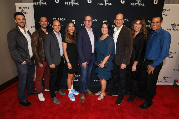 Premiere Of Docu-Series 'Cantera 5v5' During The Tribeca TV Festival [gatorade premiere of docu,red carpet,premiere,event,carpet,team,flooring,cantera,filmmakers,latam,vp,5v5,juice,content,pepsico beverages latin america svp,tribeca tv festival]