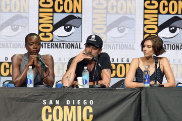 Jeffrey Dean Morgan Comic-Con International 2017 - AMC's 'Fear The Walking Dead' Panel